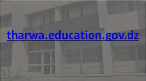 الفضاء الخاص بأولياء التلاميذ tharwa.education.gov.dz