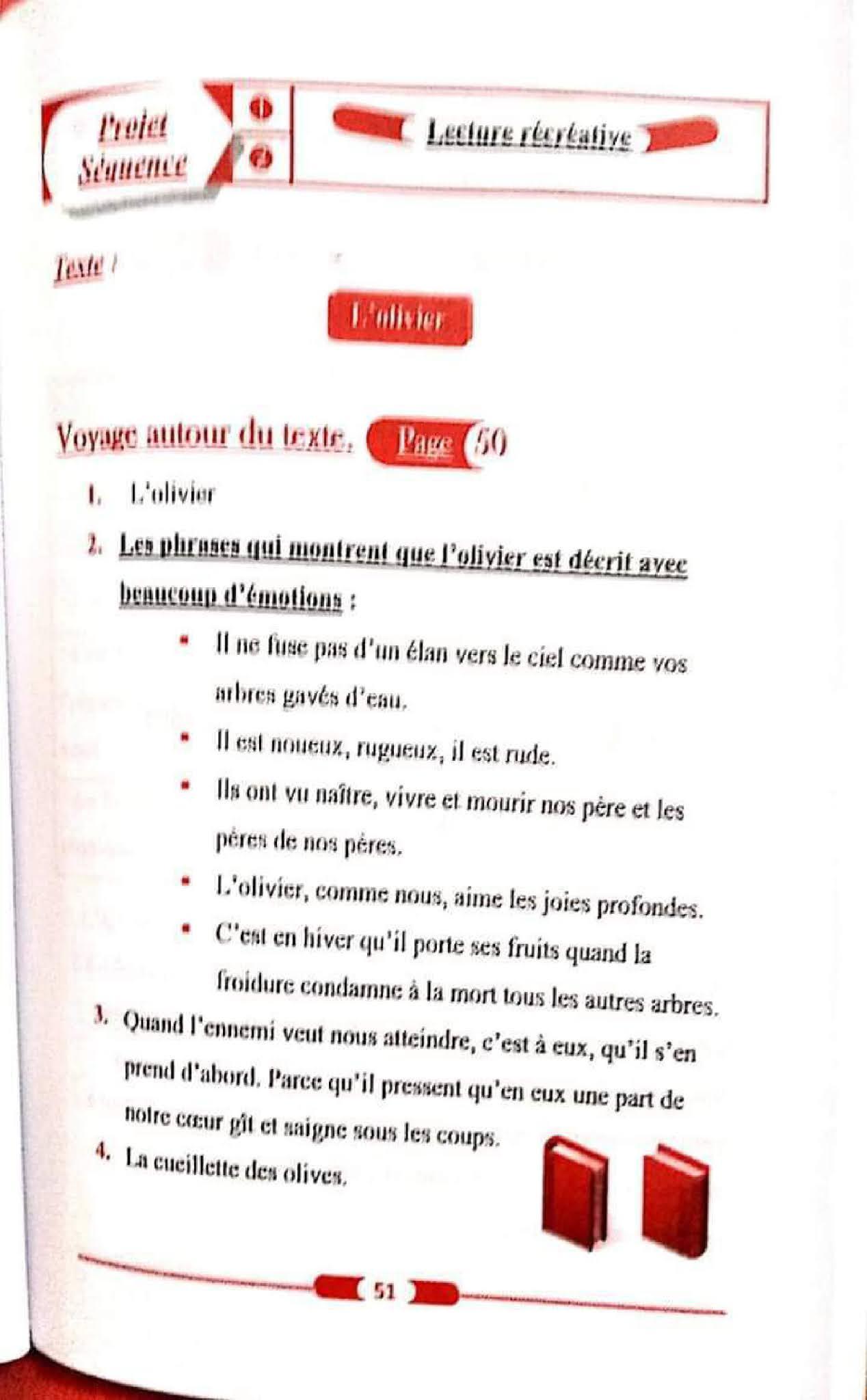 حل تمارين صفحة 50 الفرنسية 1 متوسط الجيل الثاني